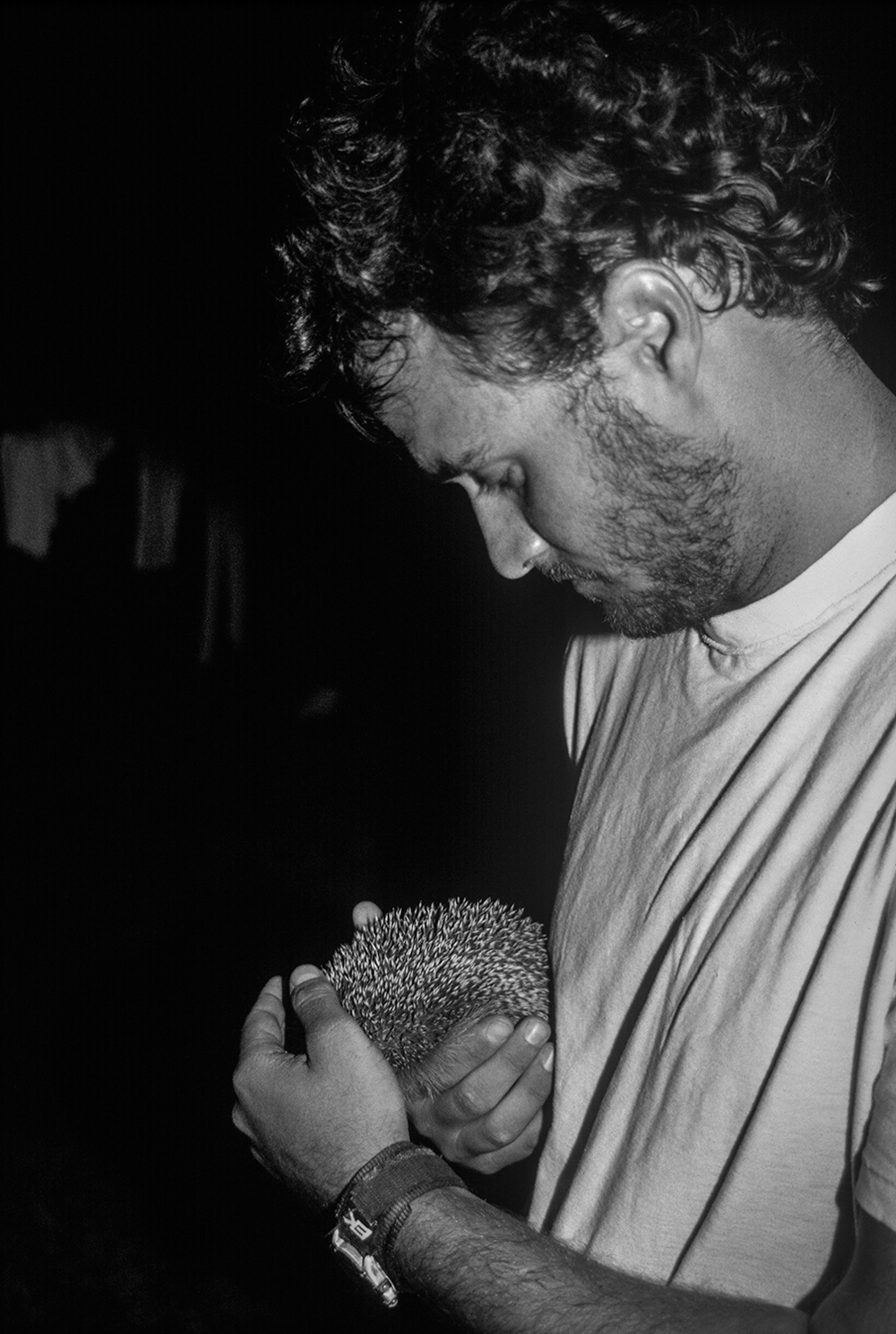 Adam With Hedgehog