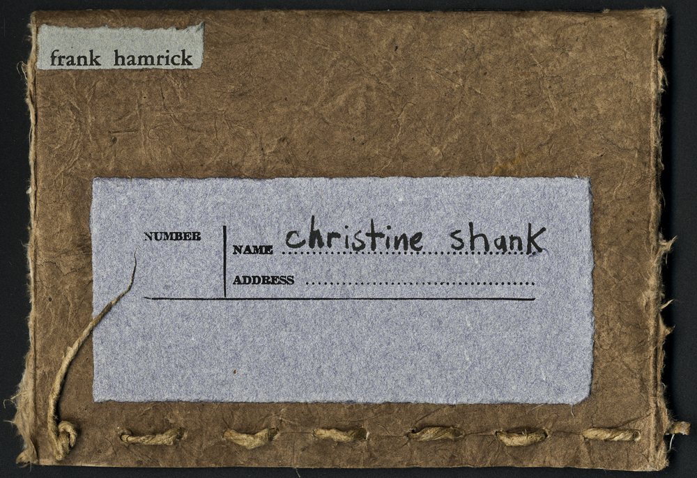 Christine's Christmas Book - Front Cover