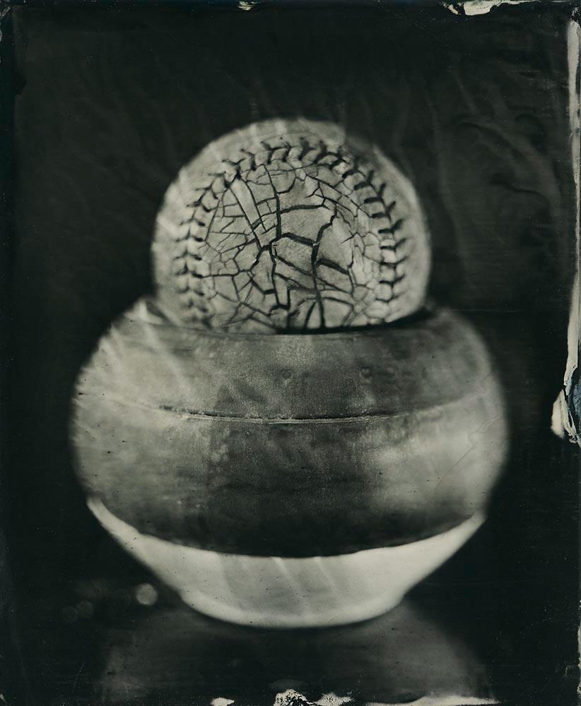 Cracked Softball & Ceramics