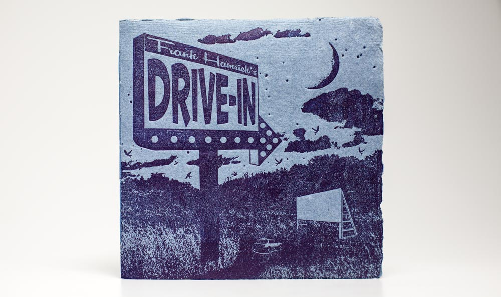 """Drive-in"" Limited Edition Artists' Book"