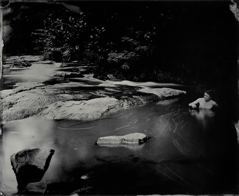 Viper - Tintype Photograph