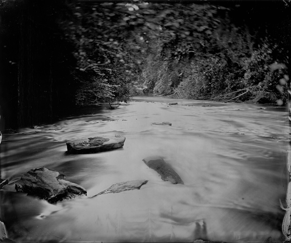 Tesnatee Creek - Tintype Photograph